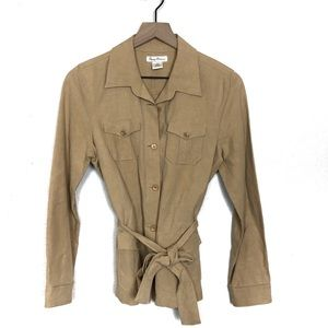 Tommy Bahama Silk and Linen Button Up Jacket